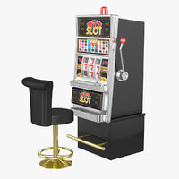 Slot Machine with Chair(1)