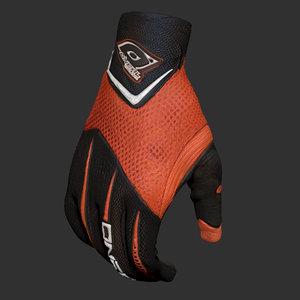 sport gloves model