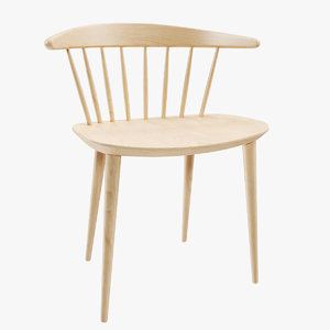 3D model realistic chair hay pinnstol