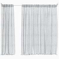 Balcony curtains