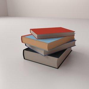 3D stacks books