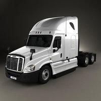 Freightliner Cascadia Sleeper Cab Tractor Truck 2007