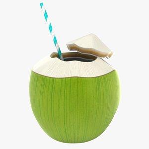 tender coconut model