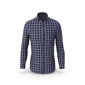 long sleeve shirt 3D model