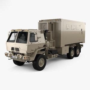 oshkosh m1087 fmtv 3D model