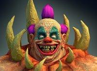 Crab Clown Creature