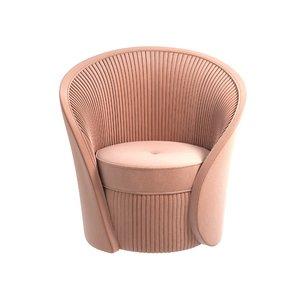 chair bloom kokets 3D model