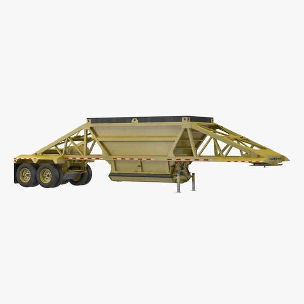 dump trailer model