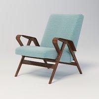 century arm chair tatra 3D
