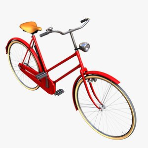 3D classic ladies bicycle