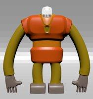 3D model boos mazinger z