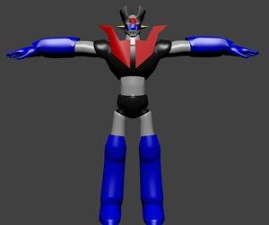 mazinger z 3D