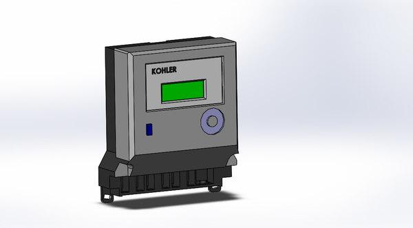kohler 3 phase meter 3D model