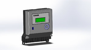 kohler 3 phase meter 3D model