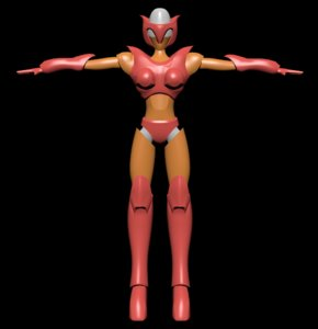 3D model afrodita t