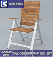 falster chair ikea vr 3D model