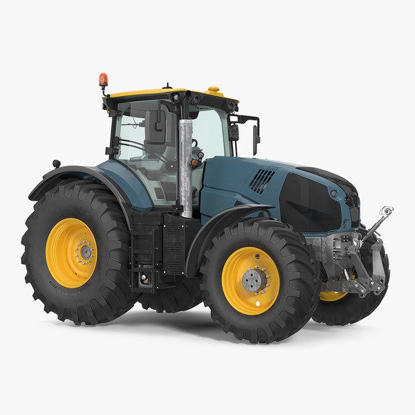 3D tractor generic new