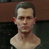 robert patrick t1000 head 3D