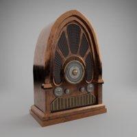 3D old radio model