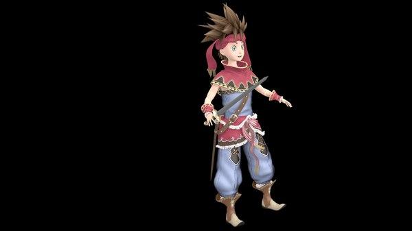 3D randi character