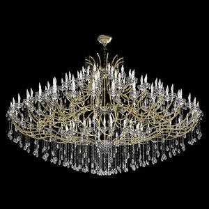 3D chandelier-a chandelier 1