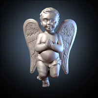 3D angel model
