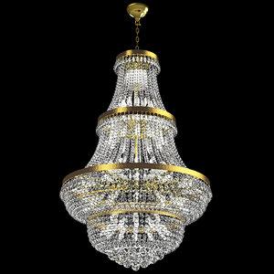 3D model chandelier-c chandelier