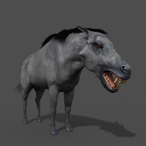 3D hell pig - daeodon model