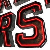 Neon & Metal Alphabet Signage