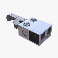 3D rooftop conditioner