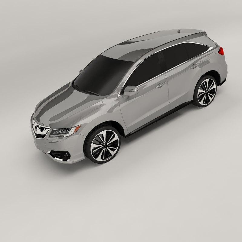 3D Model 2018 Acura Rdx 2016