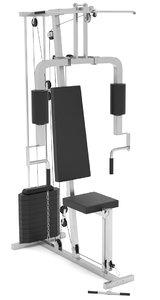 gym equipment 3D model