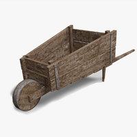 metal wood 3D model