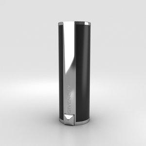3D givenchy lipstick lip model