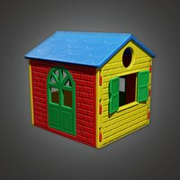 Play House 01a (PAP) - PBR Game Ready