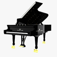 Piano Steinway Concert Grand Model D