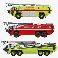 OshKosh Striker Collection Airport Firetruck