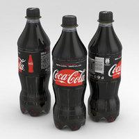 3D beverage bottle cola