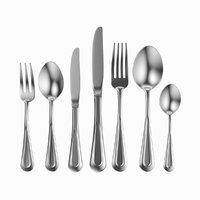 3D table cutlery 7 items