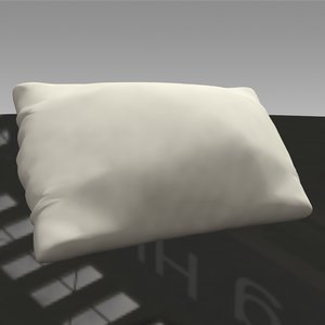 pillow design 3D model