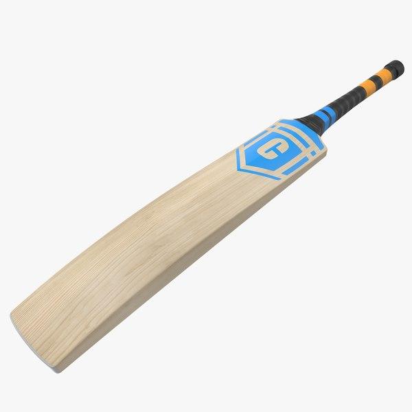 cricket bat 3D model