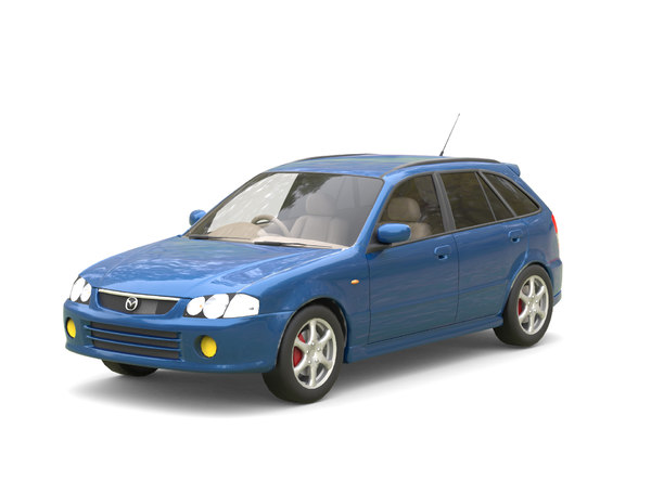 mazda familia s-wagon 3D model