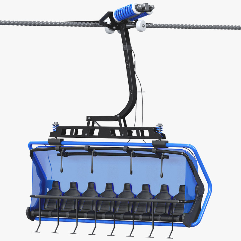 chairlift 8-seat model