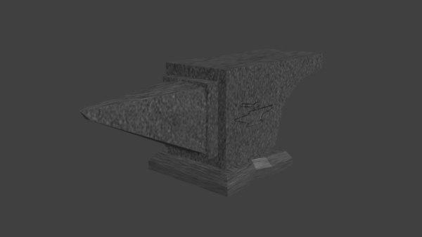 3D anvil forging blacksmiths
