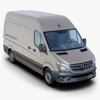 mercedes-benz sprinter 3D