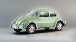 3D model modelled car