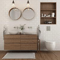 3D furniture bathroom