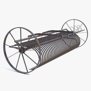 old hay rake model