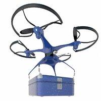 3D logistics box model
