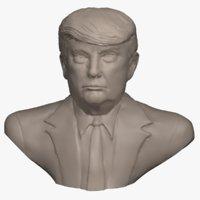 Donald Trump Bust - 3D printable